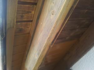 Fassadenanstrich - Dachgesimse 1.1