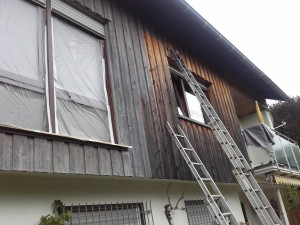 Fassadenanstrich - Holzfassade4.1