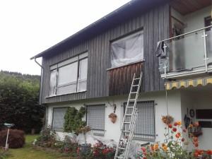 Fassadenanstrich - Holzfassade4.2
